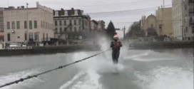 WATERSKIING ON LAKE ERIE IN DECEMBER!