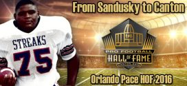 Orlando Pace Hall of Fame Enshrinement