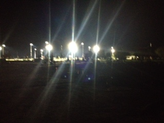 SPORTS FORCE PARK LIGHTS UP THE NIGHT!